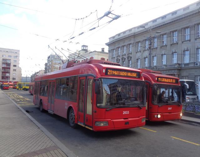 Trolejbusi će čekati prolaz maratonaca