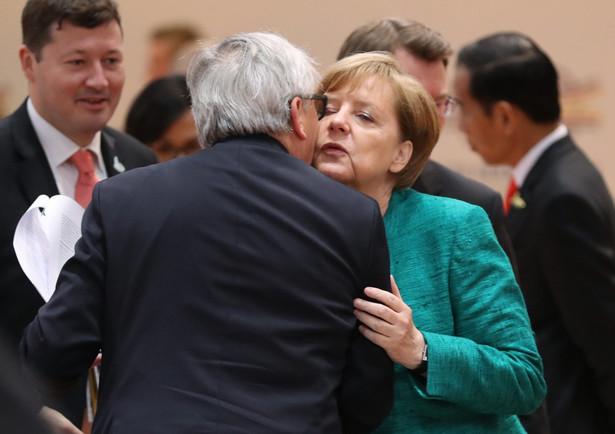 Szefowa niemieckiego rządu i przewodniczący KE mają rozmawiać w Berlinie w środę