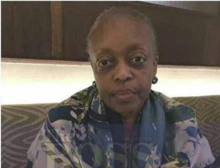 Former Petroleum Minister, Diezani Alison-Madueke was last photographed bald by journalist Dele Momodu (Dele Momodu)