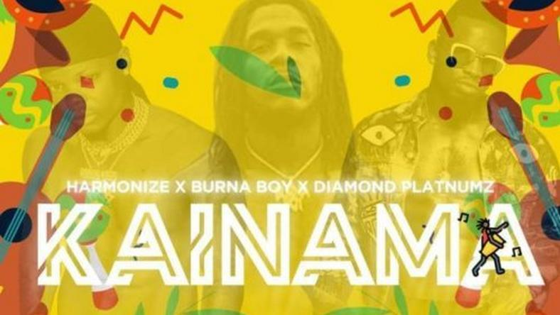 Image result for Listen to Burna Boy on 'Kainama' by Harmonize feat. Diamond Platnumz
