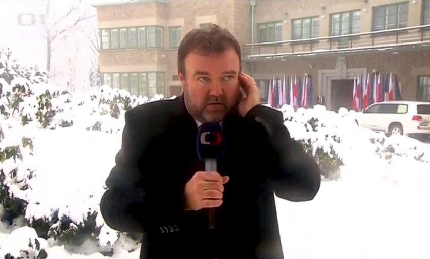 Pech czeskiego korespondenta