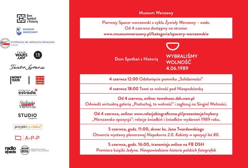 Program Święta Warszawy