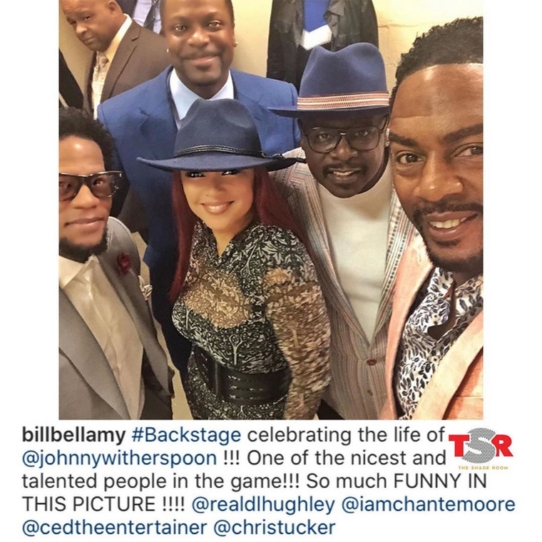 The event which took place on Tuesday, November 5, 2019, in Los Angeles saw the likes of David Letterman, Ice Cube, Chris Talker, Cedric The Entertainer, George Wallace, Angela Gibbs and Bill Bellamy in attendance. [Instagram/TheShadeRoom]