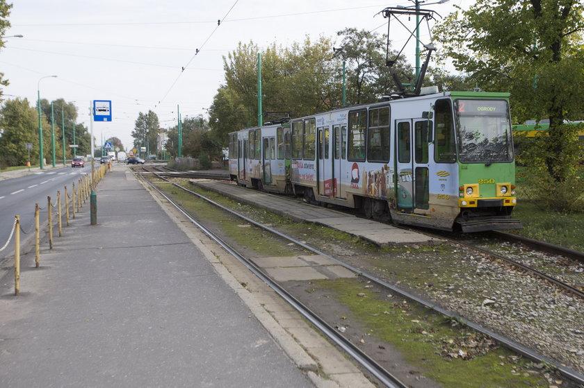 Niewybuch na pętli tramwajowej Dębiec!