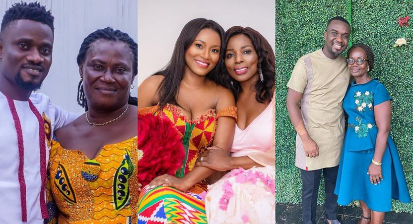 Meet the mothers of your favourite Ghanaian celebrities