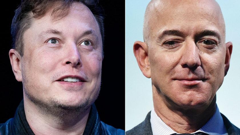 Elon Musk i Jeff Bezos