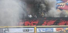 Burda na polskim stadionie! Aresztowano kibica
