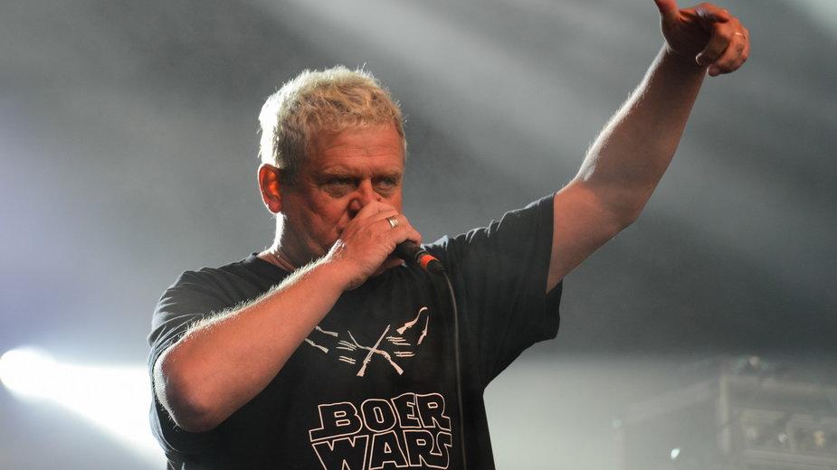 Kazik Staszewski na festiwalu Pol'and'Rock