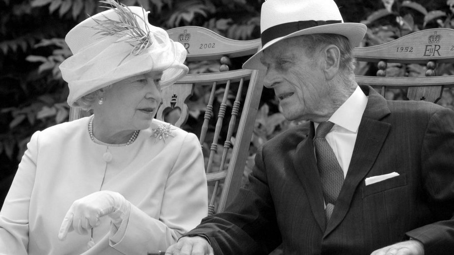 Królowa Elżbieta II i książę Filip, zdjęcie z 2002 r.