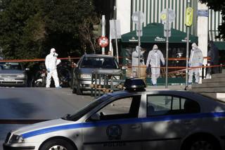 Eksplozja przed cerkwią w centrum Aten. Ranny został policjant