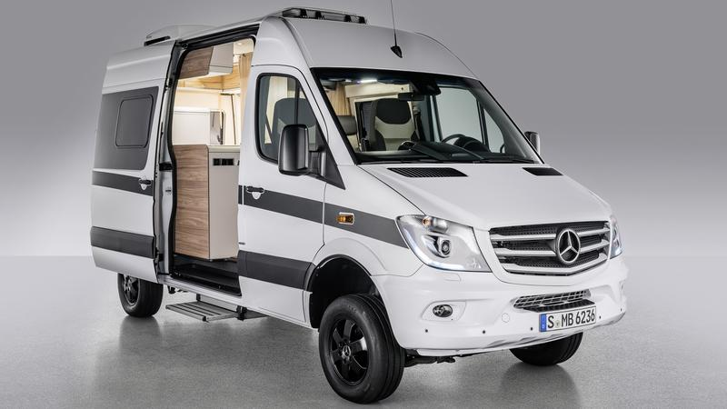 Mercedes Sprinter Hymercar Grand Canyon S