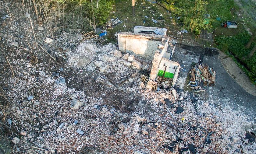 Wybuch w fabryce prochu w Mąkolnie