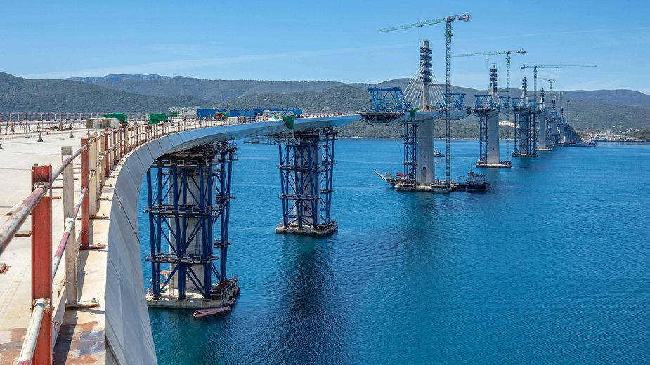 Ukończono budowę mostu Pelješac w Chorwacji