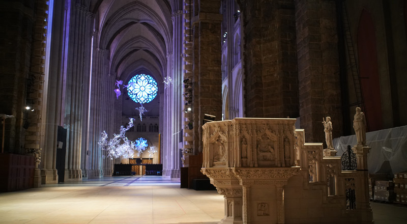 Cathedral of St. John the Divine, Including Crypt, Will Become a Hospital