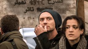 Jude Law z wizytą w obozie dla uchodźców w Calais