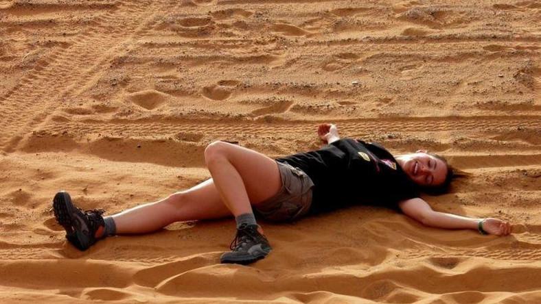 Spocona Dereszowska na środku pustyni