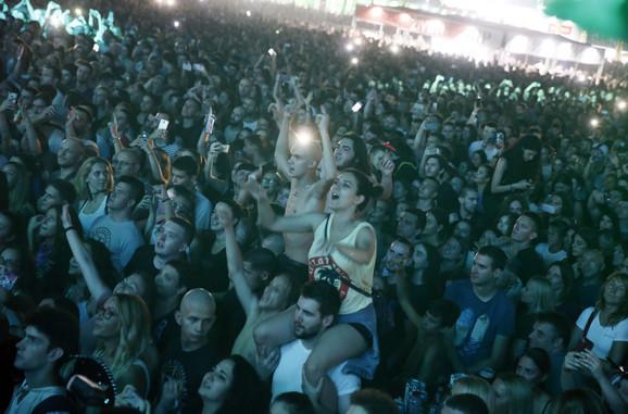 Mnogi u publici pričali su da su na festival došli samo zbog