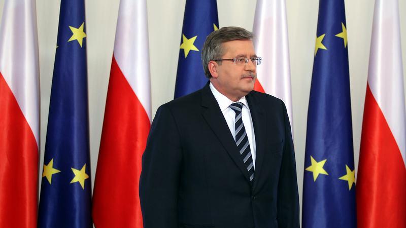 Bronisław Komorowski, fot. PAP/Tomasz Gzell