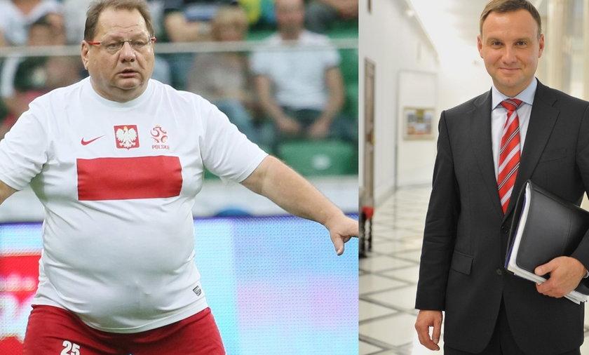 Andrzej Duda, Ryszard Kalisz
