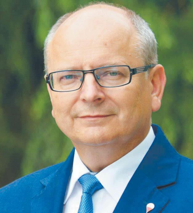 Krzysztof Obratyński burmistrz Końskich.
