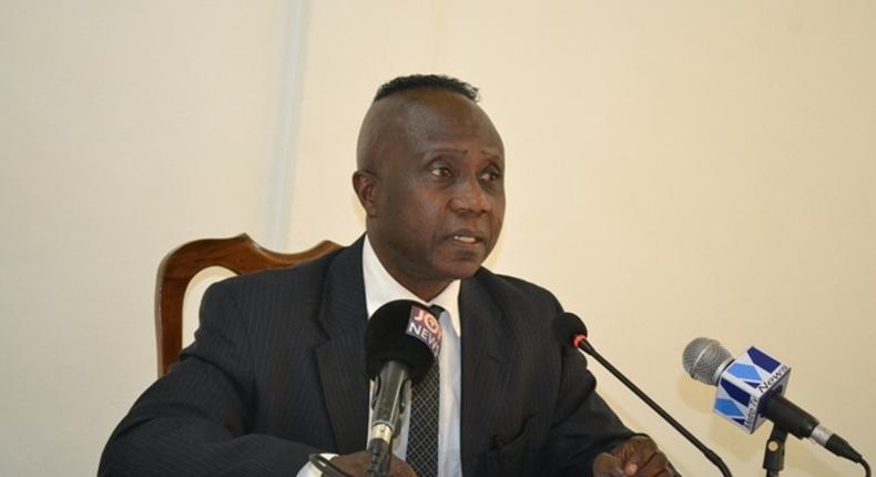 Dr John Kwakye, senior economist