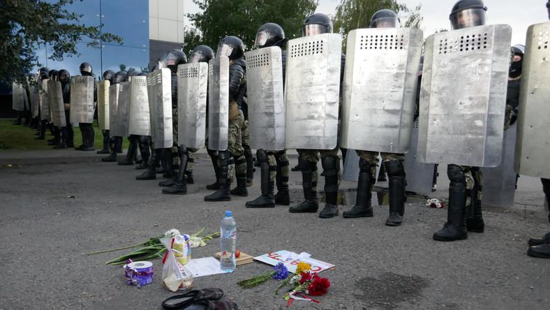 Protesty na Białorusi