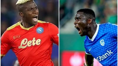 Europa League: Osimhen and Onuachu shines, Iheanacho grabs assist while Ndidi sees red