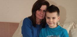 Szymek z Gdańska ma 9 lat. Nawet rogalik może go zabić