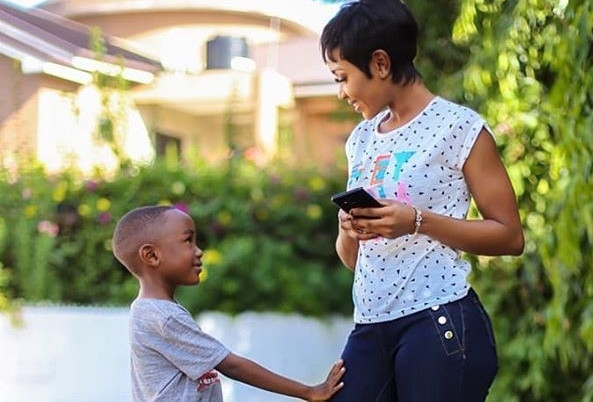 Akuapem Poloo marks son's birthday with naked photo | Pulse Ghana