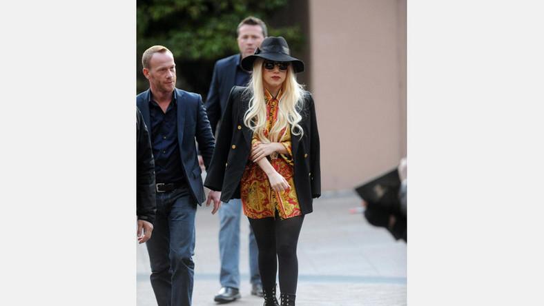 Lady GaGa przyłapana na spacerze