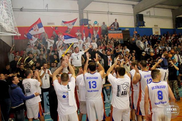Košarkaši Zlatibora su slavili u prvom meču plej-ofa za sedmo mesto protiv Vršca