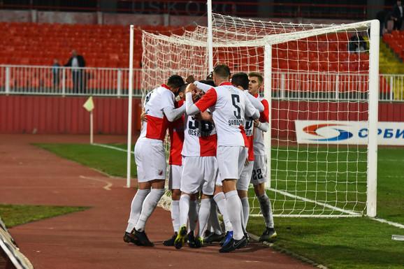 Radost fudbalera Vojvodine