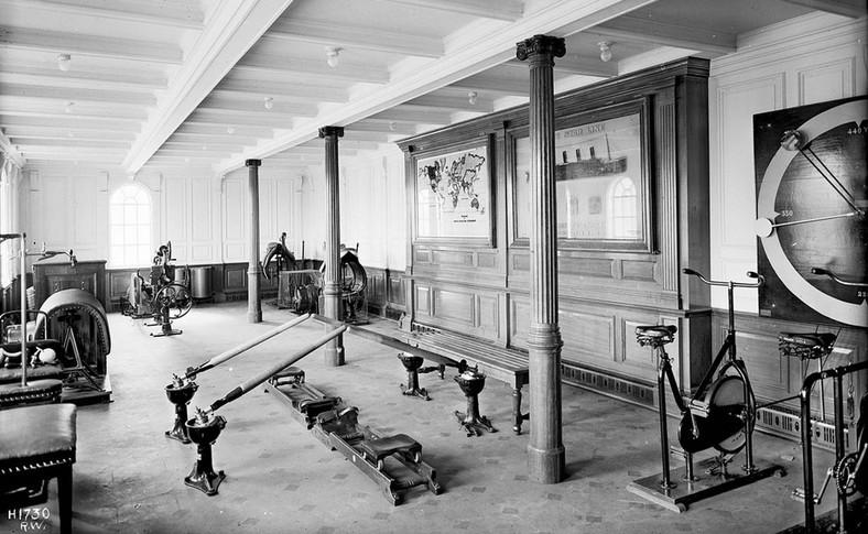 Sala do ćwiczeń na Titanicu