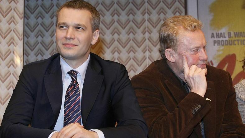 Michał Żebrowski i Daniel Olbrychski