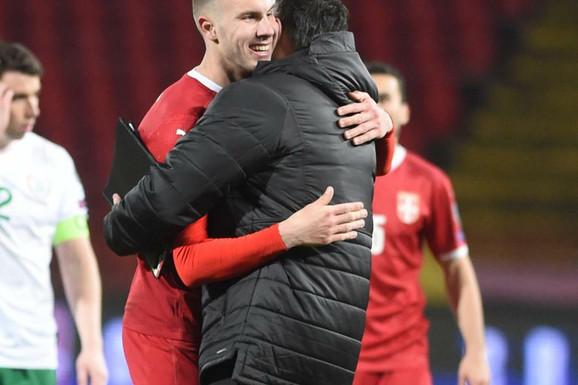 """OSMA UTAKMICA I PRVI GOL Strahinja Pavlović spasao Srbiju poraza od Jamajke: """"Rekao sam da ću sigurno pogoditi!"""""""