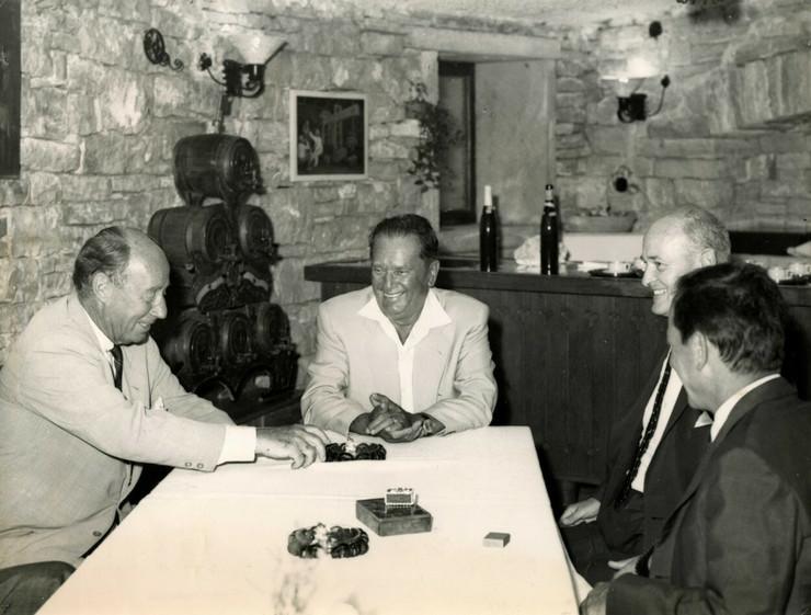 Tito u restoranu u Italiji profimedia-0323188669