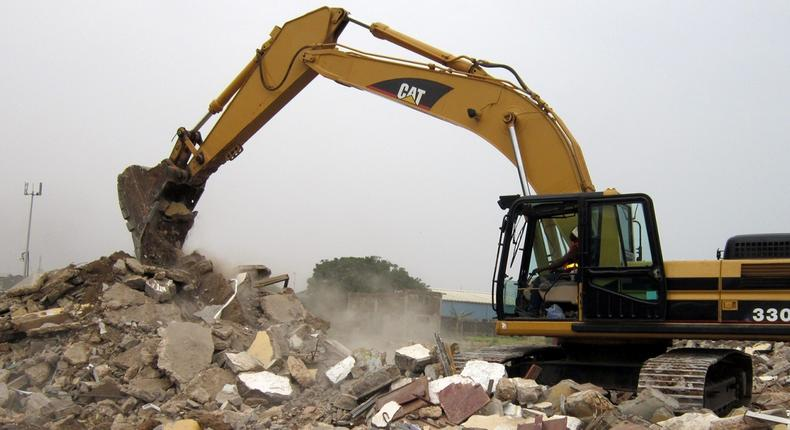 Here's a full list of the 28 collapsed companies following the demolition of Ghana's Trade Fair Centre