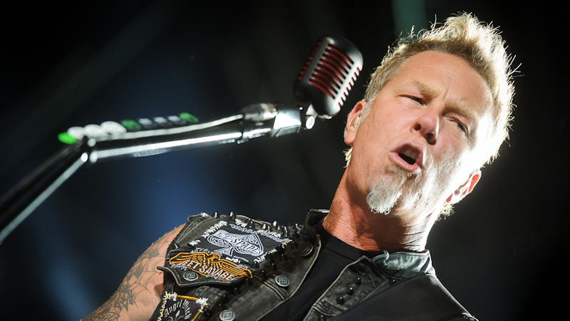 Metallica - koncert na festiwalu Sonisphere 2012 w Warszawie (fot. Artur Rawicz / Onet)