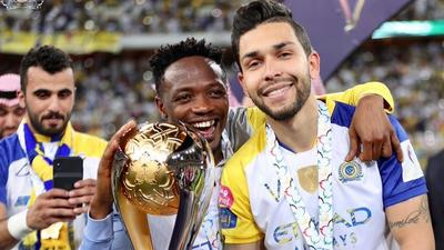 Super Eagles captain Ahmed Musa wins Saudi Super Cup with Al Nassr