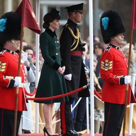 Księżna Kate z mężem na obchodach Dnia św. Patryka. Jak zaprezentowała się tym razem?