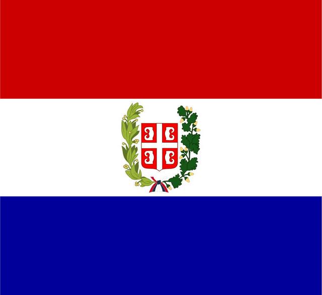 """""""Sretenjska"""" zastava Srbije Foto: Wikipedia"""