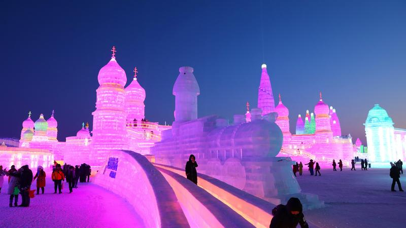 Międzynarodowy Festiwal Śniegu i Lodu w Harbin, Chiny
