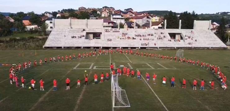 Prosidba na stadionu fudbalskog kluba Tempo