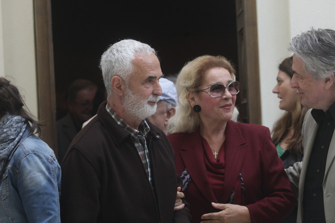 Vera Čukić i Gordan Mihić