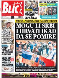 Naslovna strana 7.8. Blic