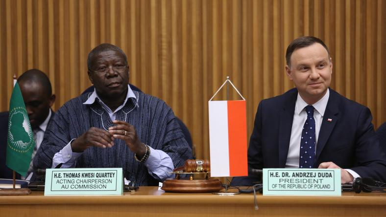 Wizyta Andrzeja Dudy w Etopii