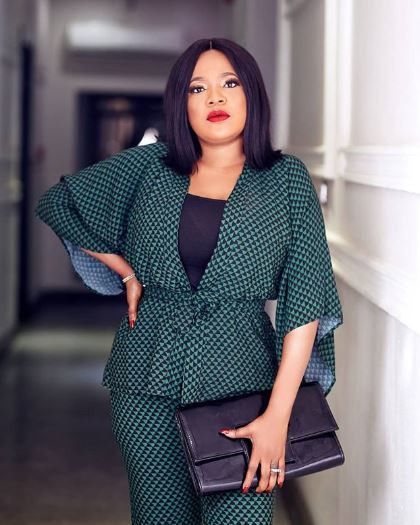 Toyin Abraham's latest comments are coming weeks after she got into a social media fight with colleague, Lizzy Anjorin. [Instagram/ToyinAbraham]
