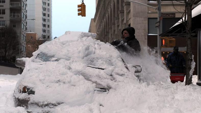 Ostra zima w USA