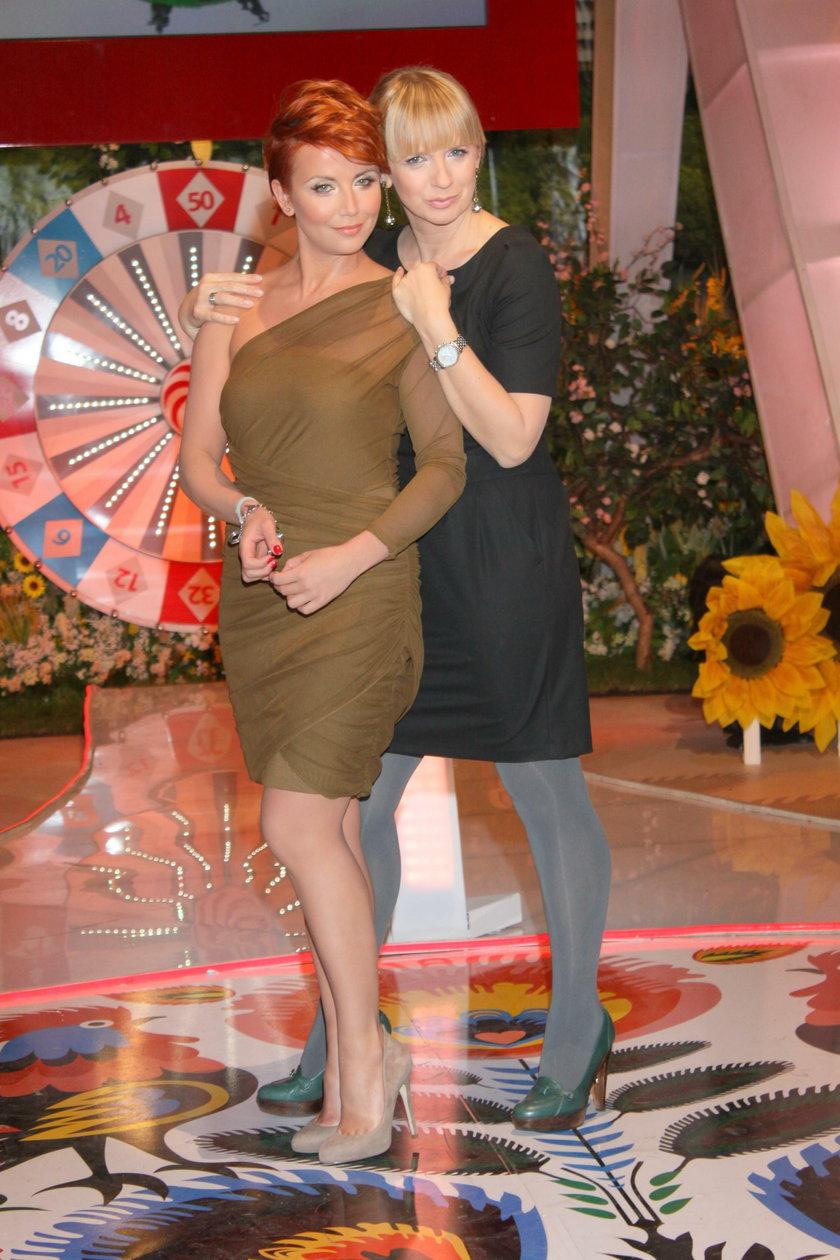 Katarzyna Zielińska i Marzena Rogalska