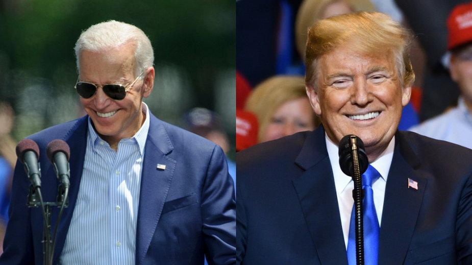 Biden wydaje dwa razy więcej pieniędzy na swoją kampanię niż Trump
